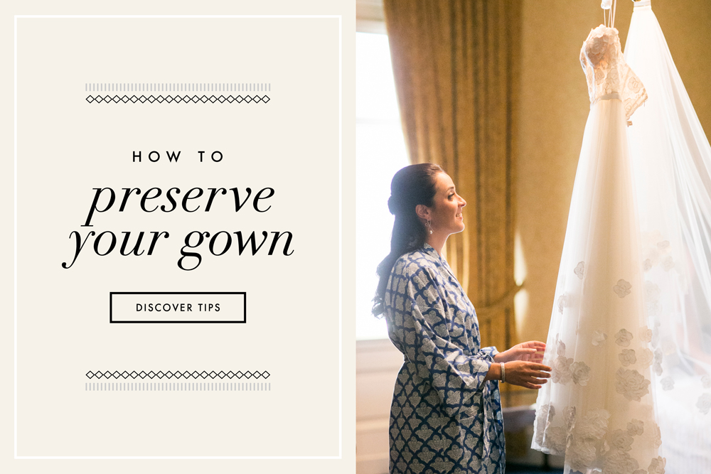 Wedding gown preservation how to preserve your bridal for How to preserve a wedding dress