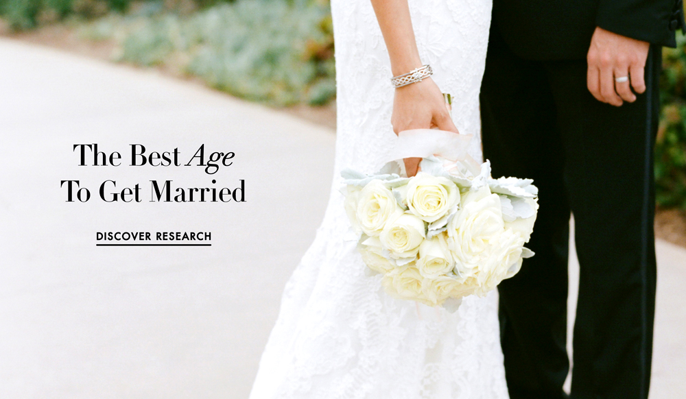 Whats best age get married