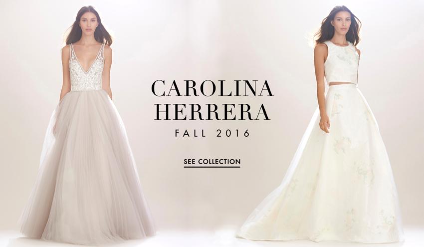 Carolina Herrera\'s Romantic, Modern Fall 2016 Collection - Inside ...