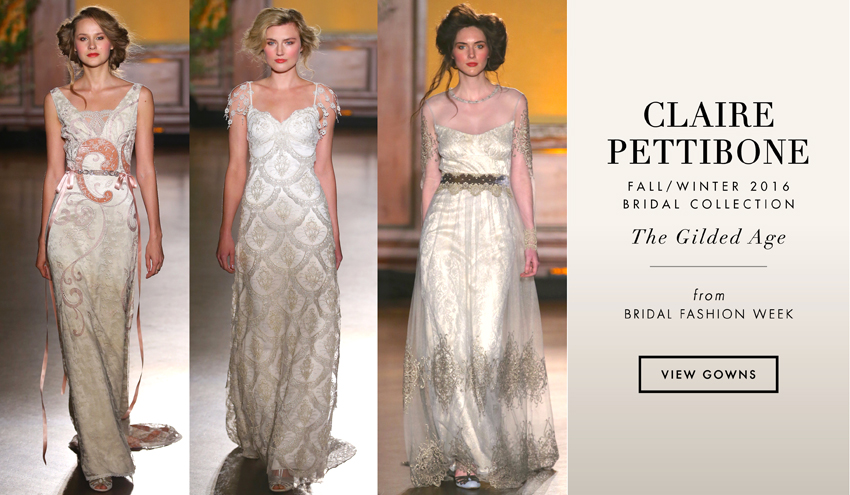 Claire pettibone fallwinter 2016 bridal collection the gilded claire pettibone fallwinter 2016 bridal collection the gilded age inside weddings junglespirit Images