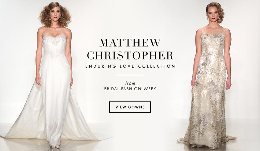 Matthew Christopher 2016 Enduring Love Bridal Collection   Inside Weddings