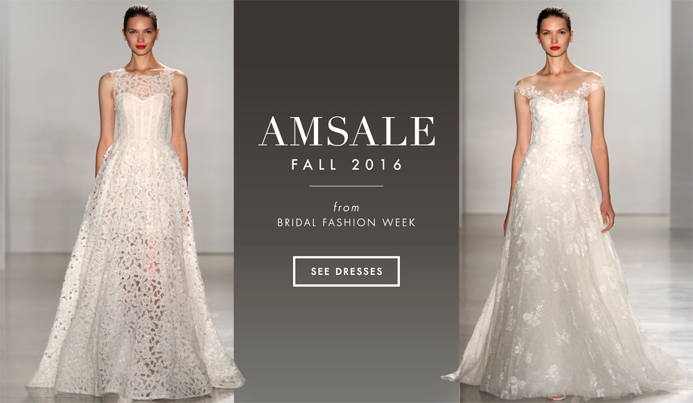 Wedding Dresses: Amsale Fall 2016 Bridal Collection - Inside Weddings