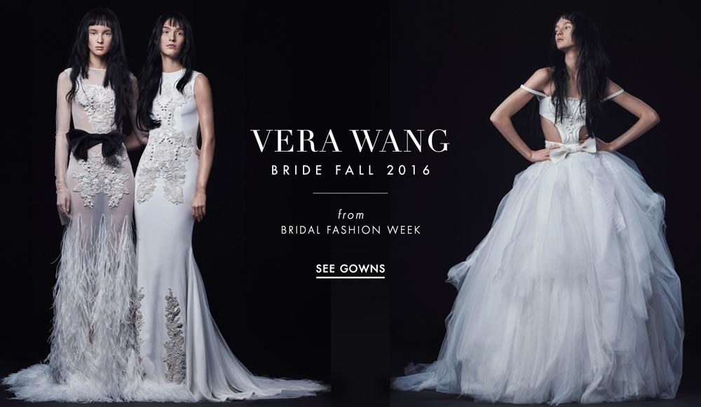 Wedding Dresses Vera Wang Bride Fall 2016 Collection Inside Weddings