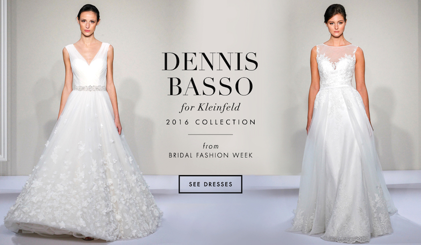 Wedding Dresses: Dennis Basso for Kleinfeld Bridal 2016 - Inside ...