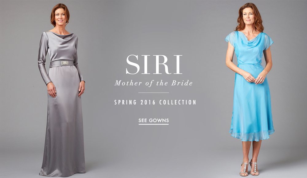 3abf1313553 Mother of the Bride Dresses by Siri Spring 2016 - Inside Weddings