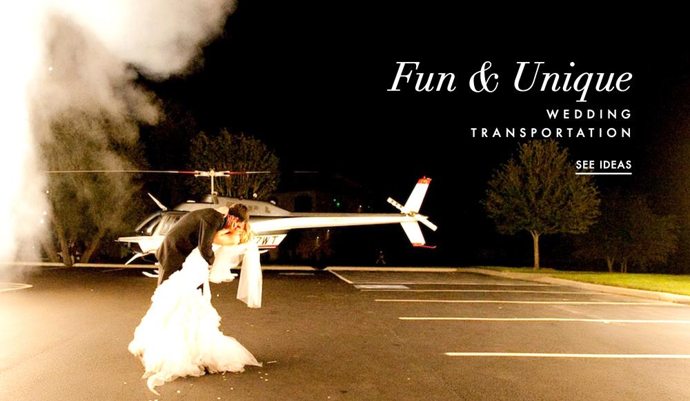 Wedding Transportation Ideas Unique Fun Transportation Options