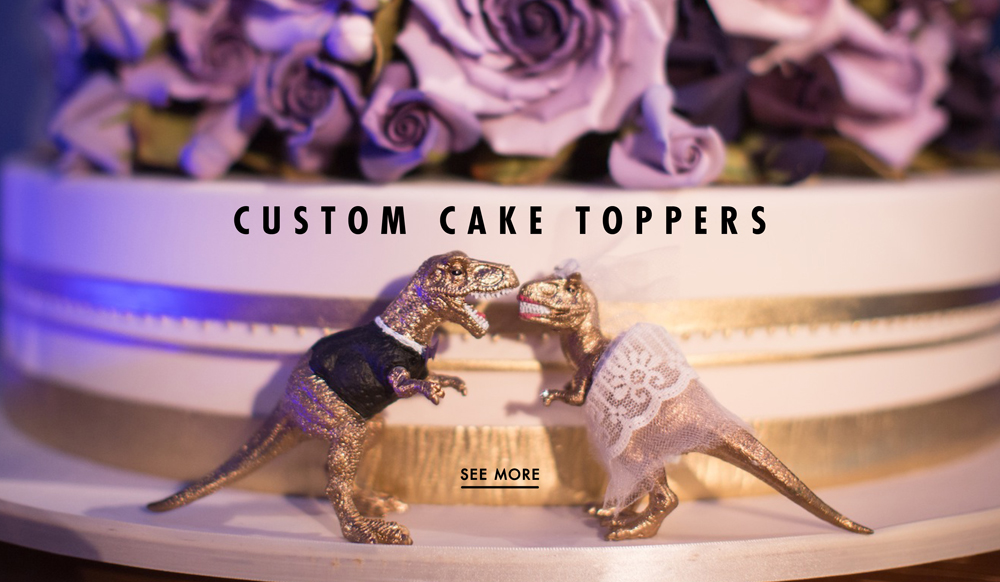 Wedding cake toppers 7 fun and unique examples inside weddings junglespirit