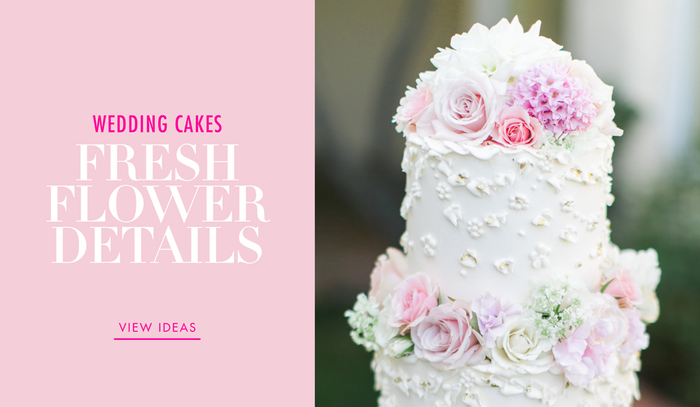 decorate a wedding cake with fresh flowers wedding cakes 20 ways to decorate with fresh flowers 13374