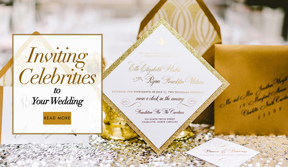 Wedding invitations what you will receive from your favorite wedding invitations what you will receive from your favorite celebrity inside weddings junglespirit Gallery