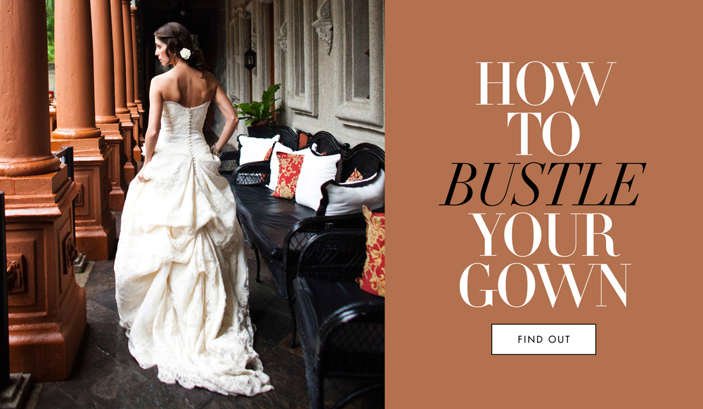 Wedding Gowns The Best Bustle For Your Wedding Dress Inside Weddings