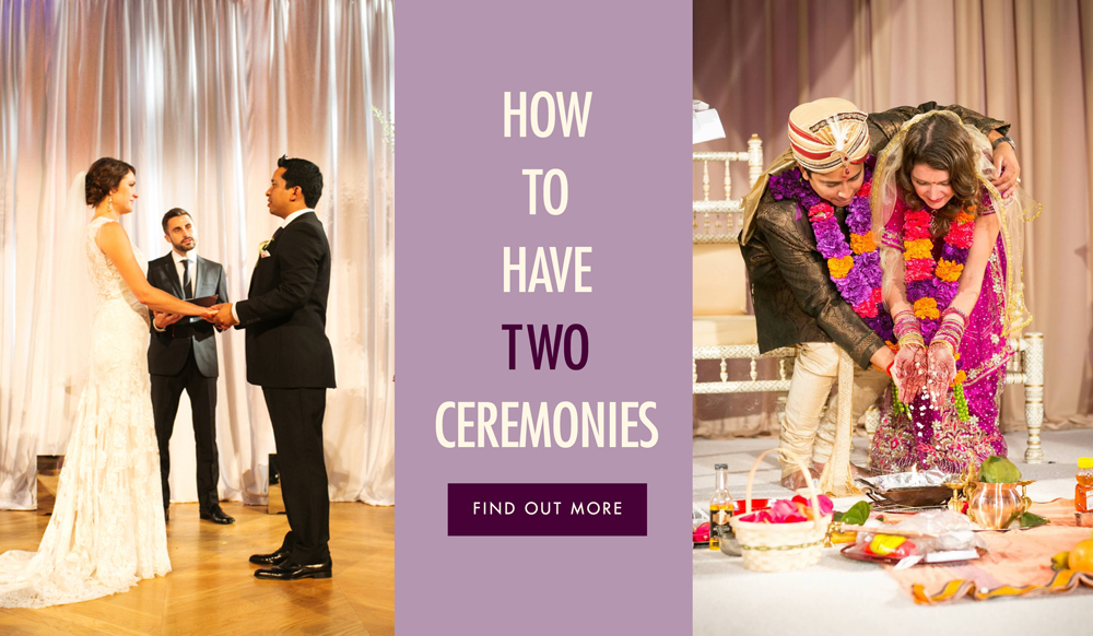How to have two wedding ceremonies inside weddings junglespirit Choice Image
