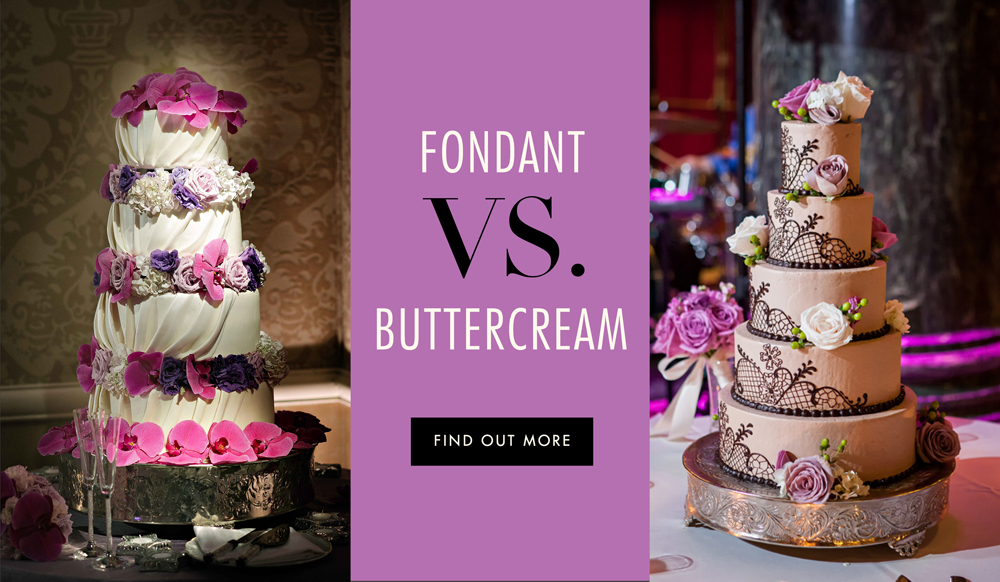 Wedding Cake Debate Fondant Vs Buttercream Inside Weddings