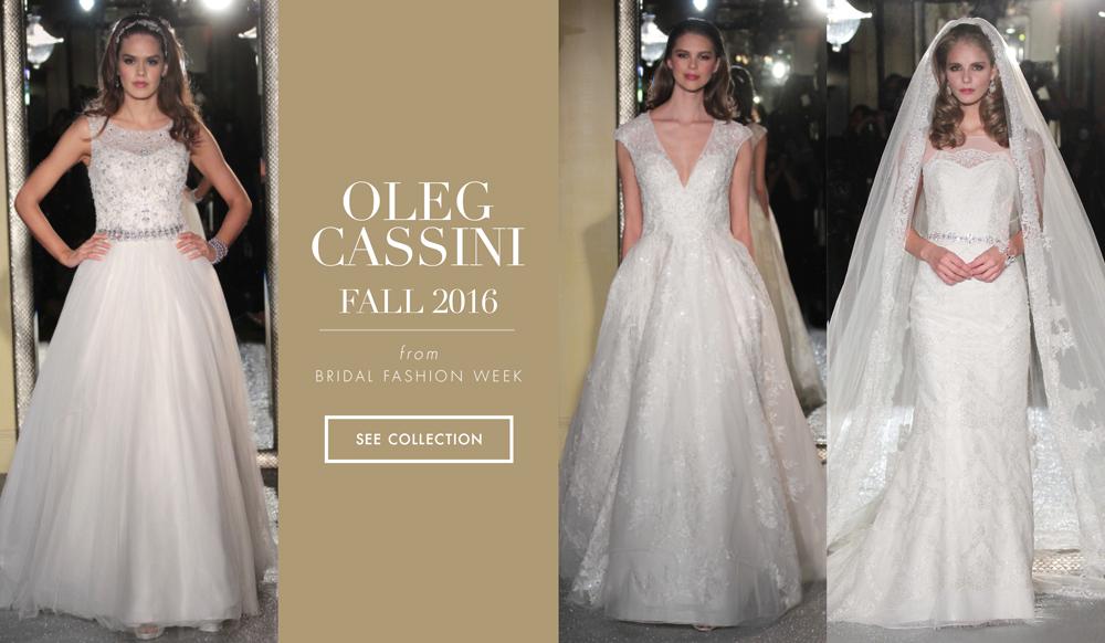 4ad7107d968 Wedding Dresses  Oleg Cassini Fall 2016 Collection - Inside Weddings
