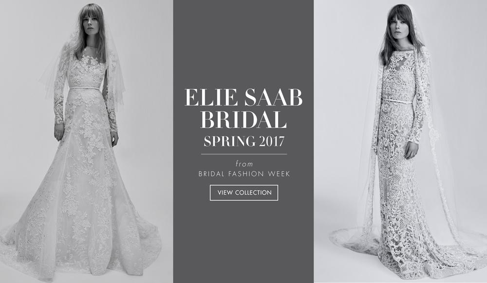 f3c1101d80ffc Modern Wedding Dresses from Elie Saab Bridal Spring 2017 - Inside Weddings