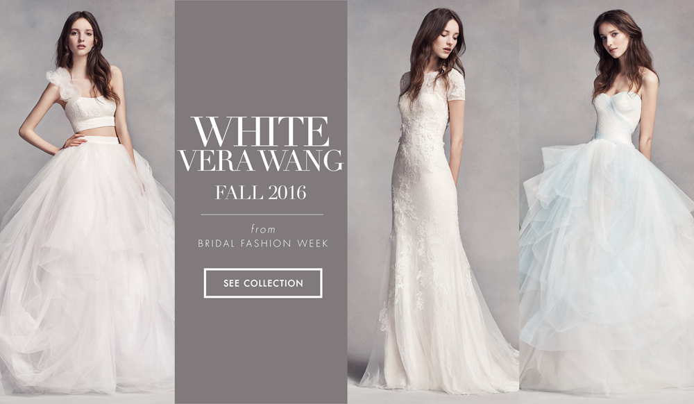 36ff848f0cf Classic Wedding Dresses with Modern Details by White by Vera Wang Fall 2016  - Inside Weddings