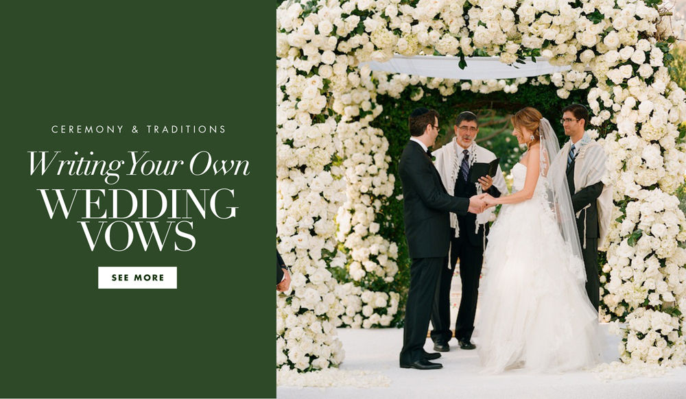 Wedding Vows: How To Write Your Own