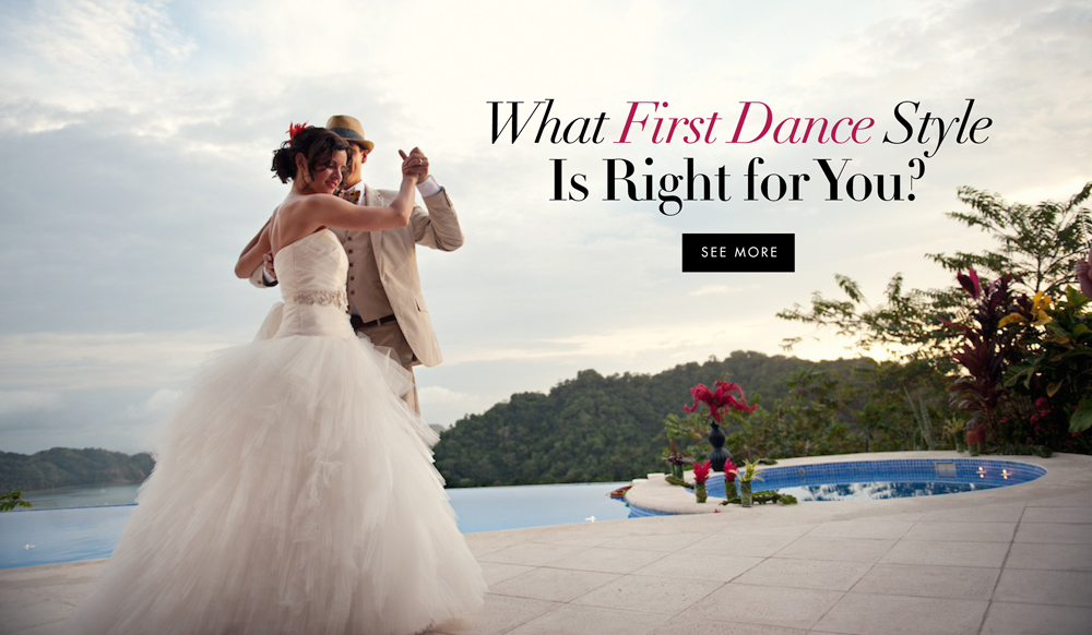 Find Out What First Dance Style Is Right For Your Wedding