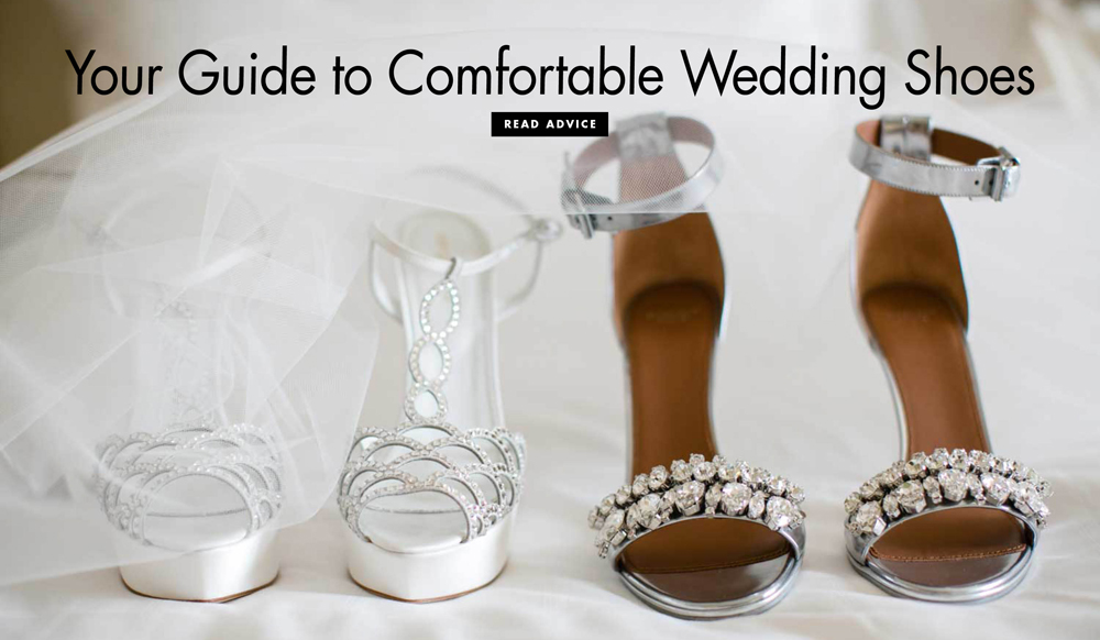 Make Your Bridal Shoes Less Painful Inside Weddings