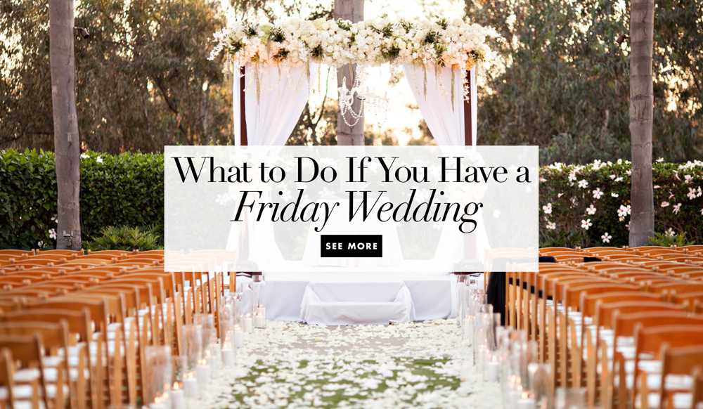 7 Tips For Planning A Small Courthouse Wedding: What To Do If You Have A Friday Wedding