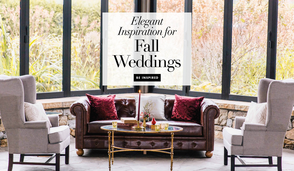 Wedding themes fall wedding ideas inside weddings - Fall decor trends five tips to spruce up your homes ...