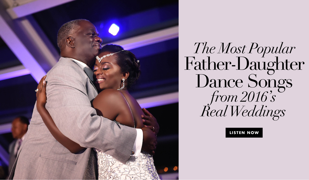 Wedding Song Ideas: 2016 Father-Daughter Dance Songs