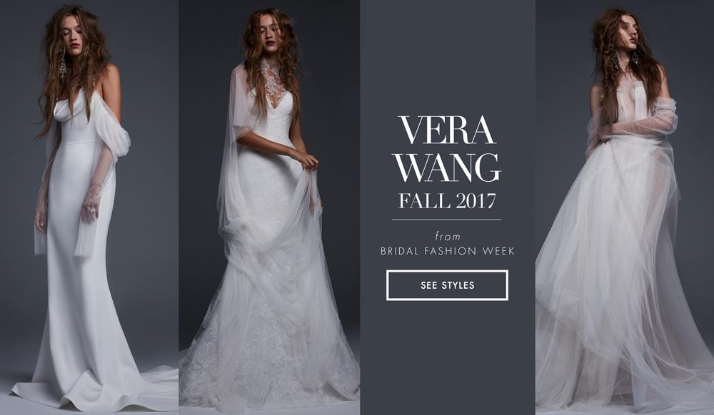 2aabdc26ba6 Bridal Week  Young Love Wedding Dresses from Vera Wang Fall 2017 - Inside  Weddings