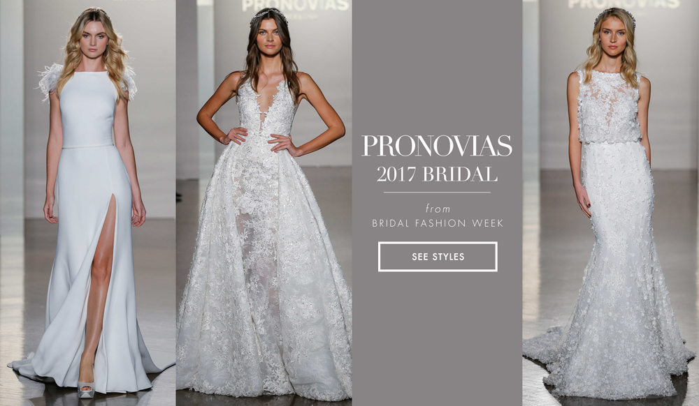 933122c2894 Bridal Week  Bridal Gowns Inspired by Night Sky from Atelier Pronovias 2017  - Inside Weddings
