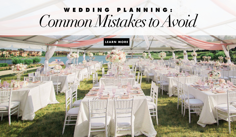 How To Plan An Outdoor Wedding 10 Planning Mistakes: Wedding Planning: Common Mistakes To Avoid