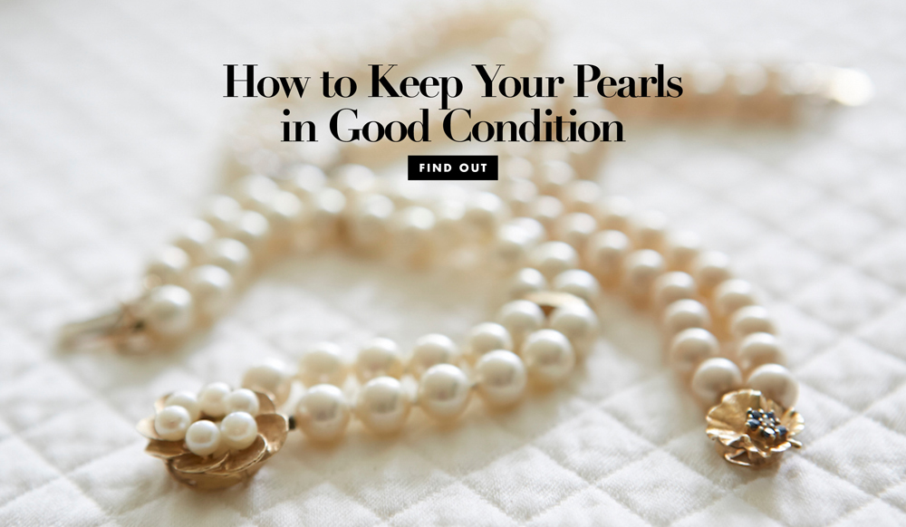 Wedding Jewelry: How to Keep Your Pearls in Good Condition ...