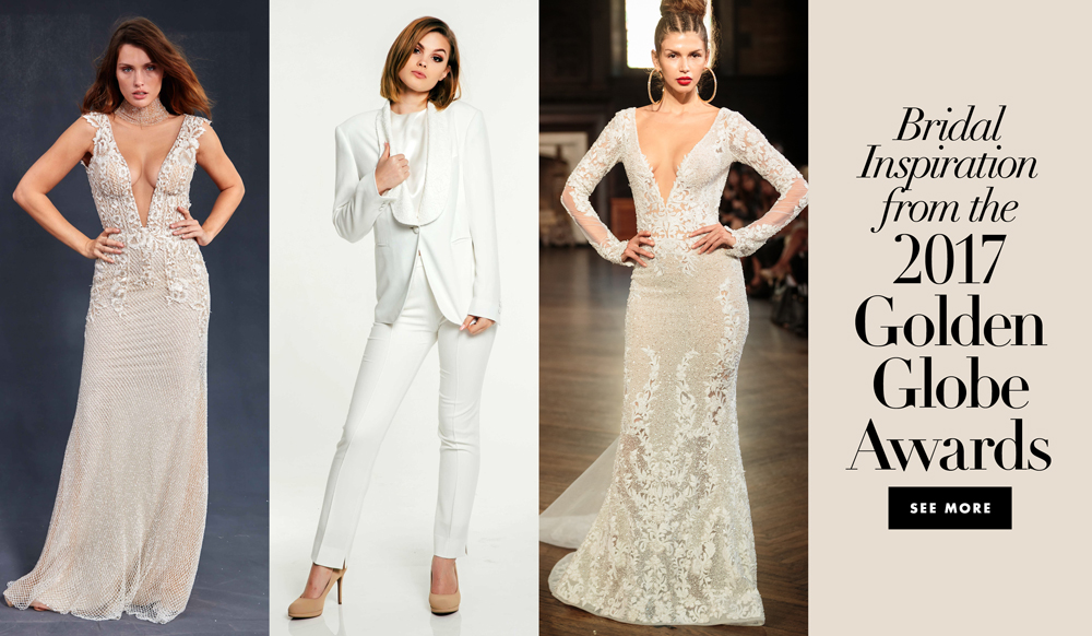Designer Wedding Dresses Inspired by Red Carpet Looks from the 2017 ...