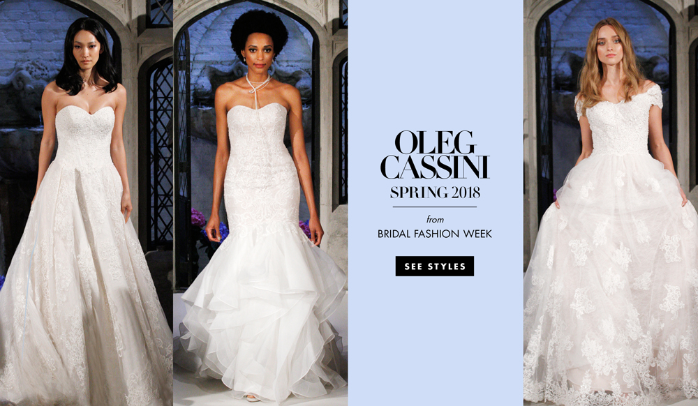 Wedding Dresses: Oleg Cassini Spring 2018 Bridal