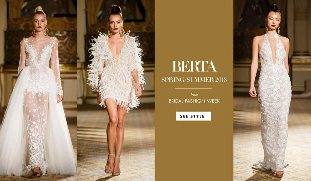 27578c269 Chic and Seductive Wedding Dresses from Berta Spring/Summer 2018 - Inside  Weddings