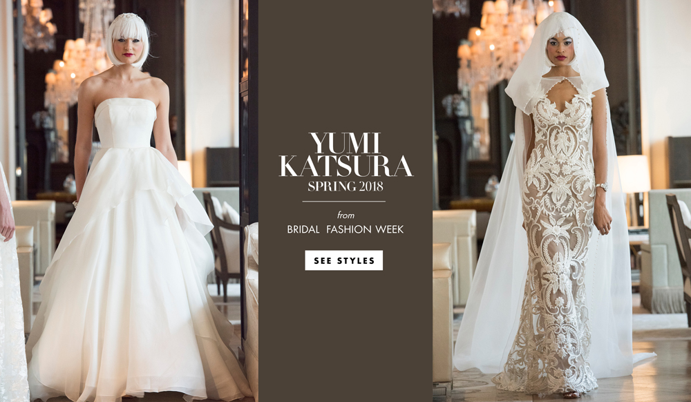0cc08fdbf9 Wedding Dresses  Yumi Katsura Spring 2018 Bridal Collection - Inside  Weddings