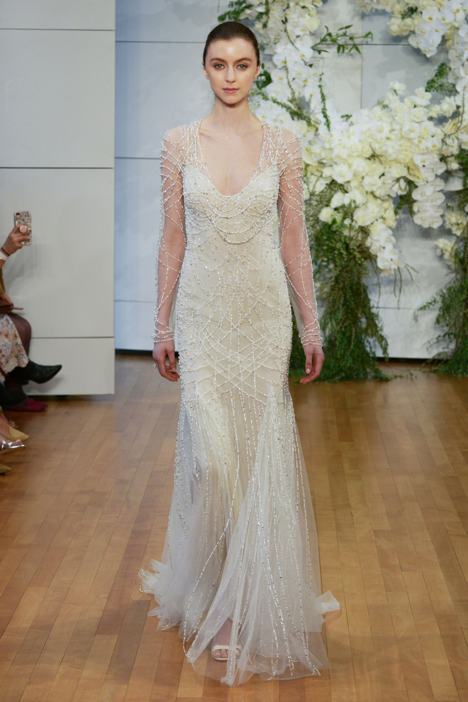 Monique Lhuillier Spring 2018 Samantha - Inside Weddings