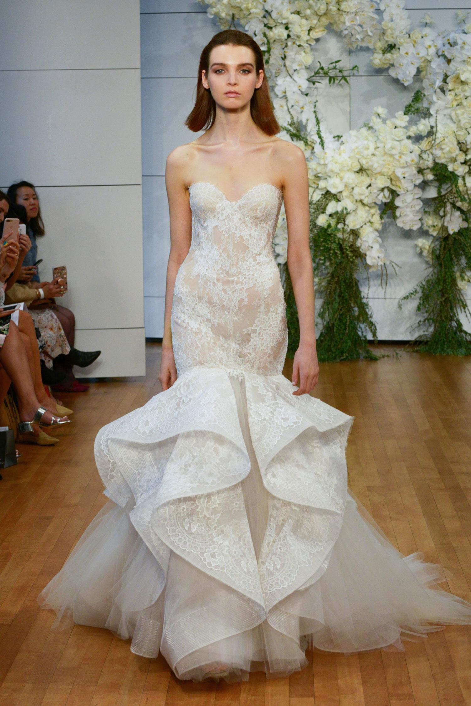Monique Lhuillier Spring 2018 Emanuela - Inside Weddings