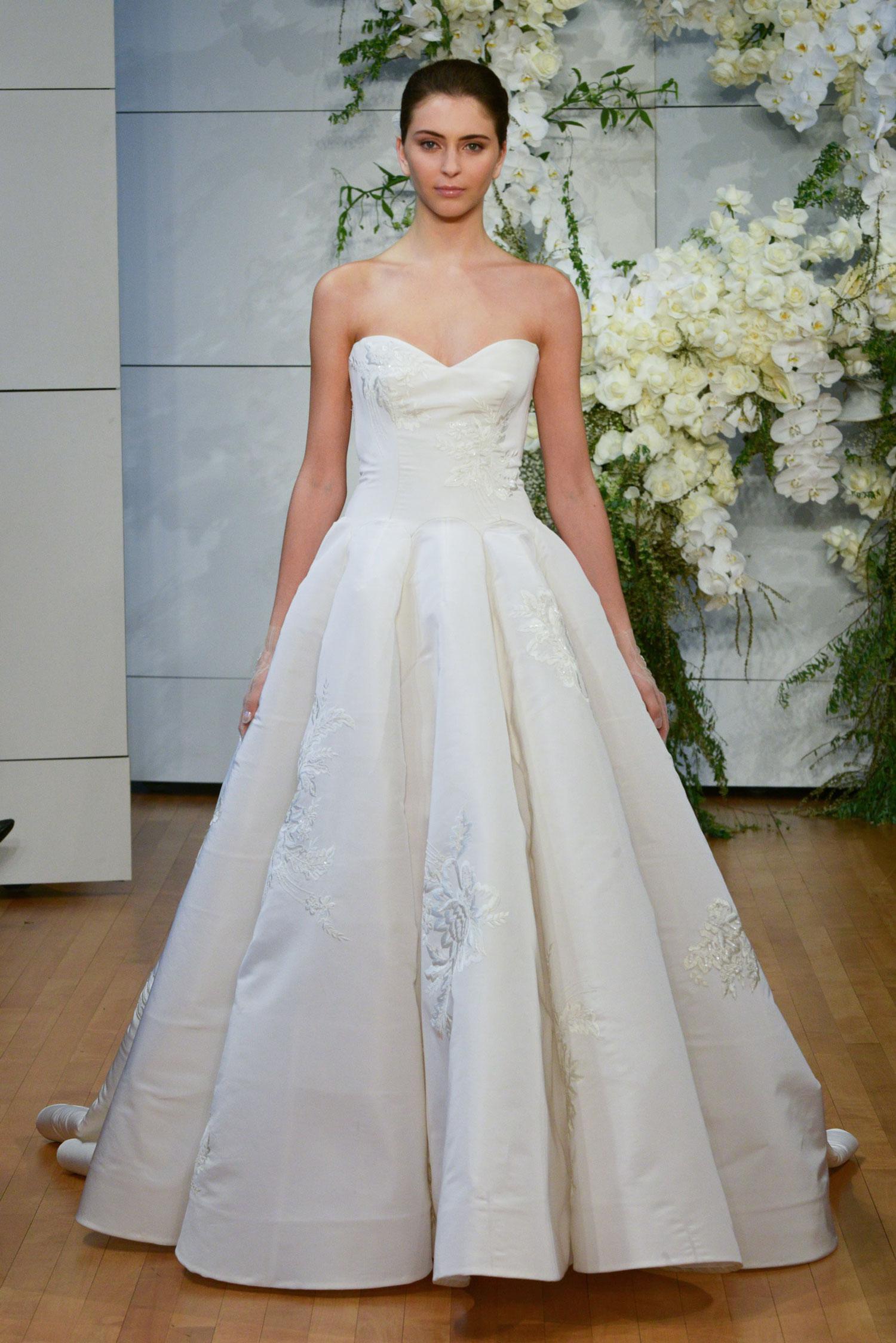 Monique Lhuillier Spring 2018 Juliette - Inside Weddings