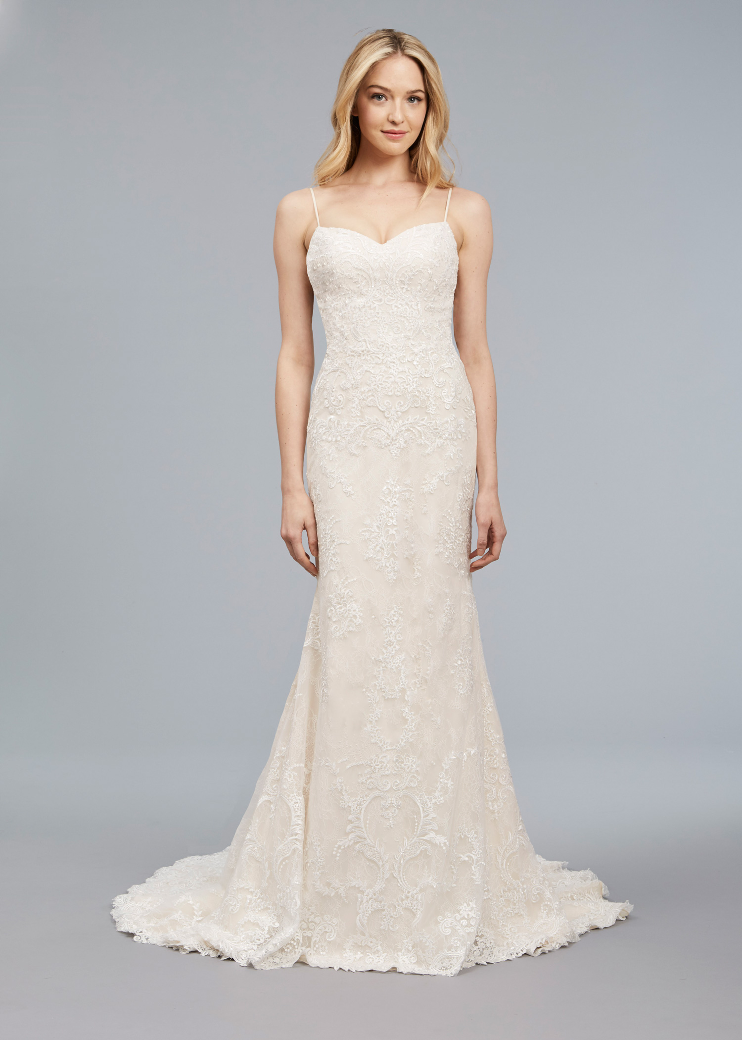 Anne Barge Blue Willow Bride Spring 2018 Luna - Inside Weddings