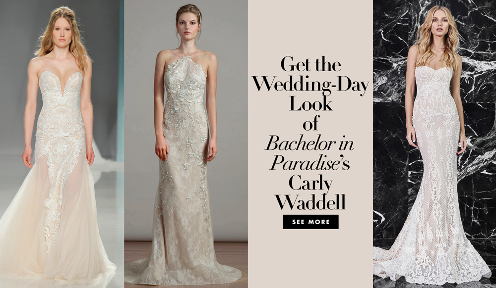 Carly And Evan Wedding.Bachelor In Paradise Star Carly Waddell S Idan Cohen Wedding Dress