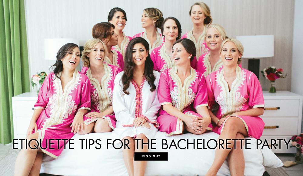 Etiquette Tips For The Bachelorette Party