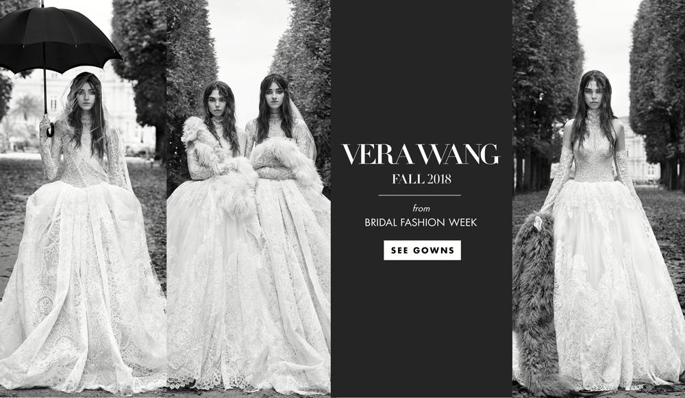 79d000daa2846 Bridal Fashion Week: Vera Wang Fall 2018 - Inside Weddings