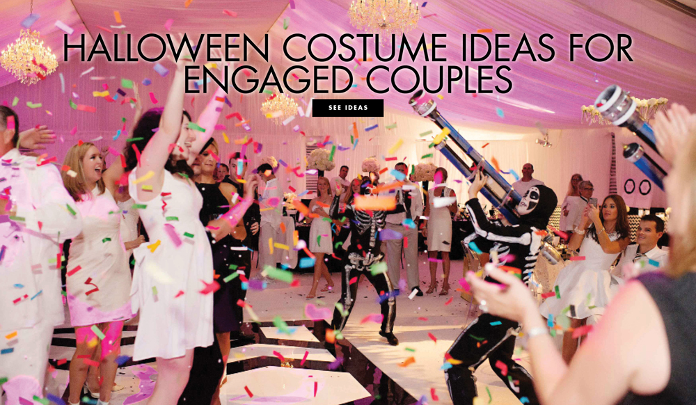 Wedding-Related Halloween Costume Ideas for Engaged Couples - Inside Weddings & Wedding-Related Halloween Costume Ideas for Engaged Couples - Inside ...