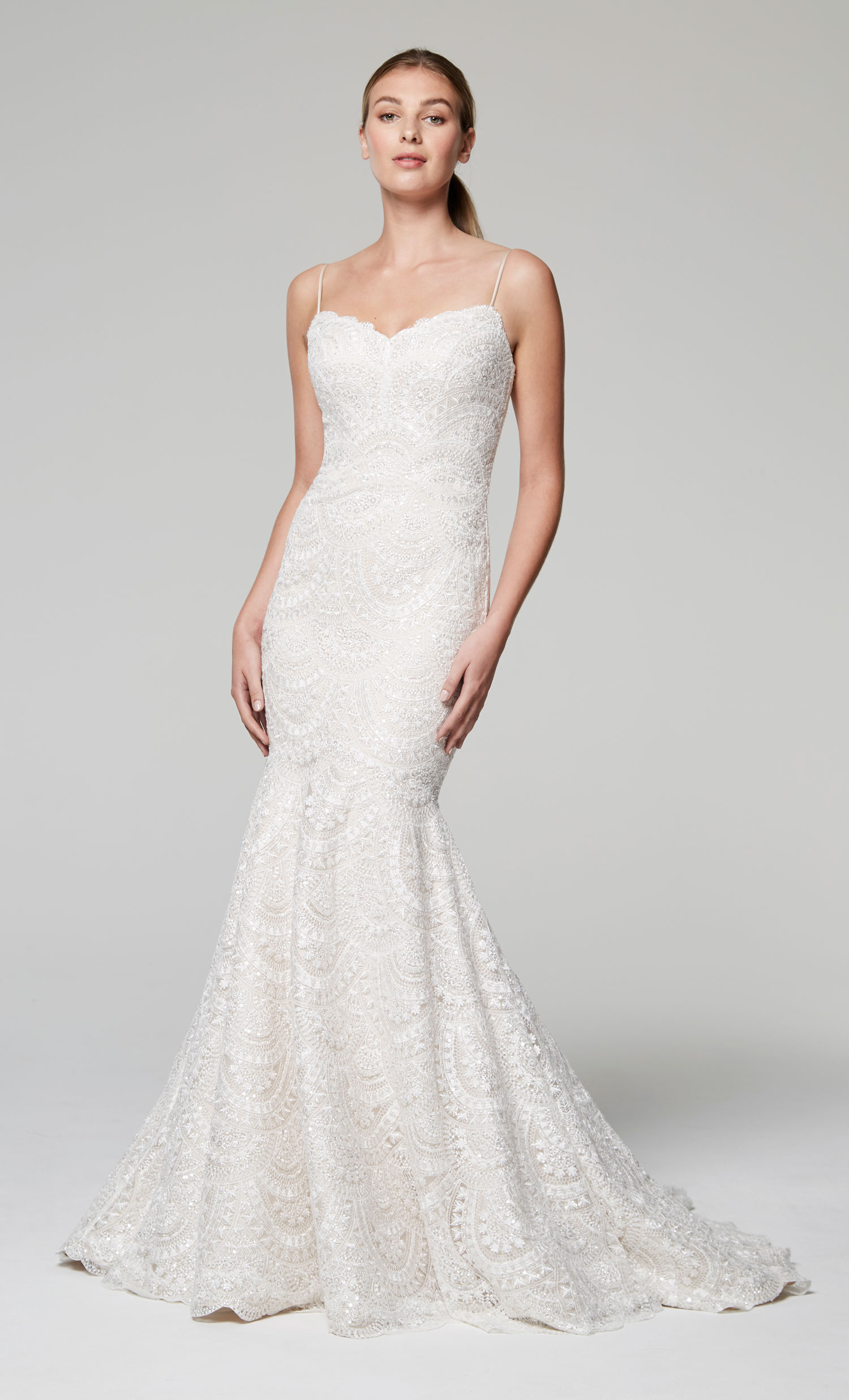 Anne Barge Blue Willow Bride Fall 2018 Zurie - Inside Weddings