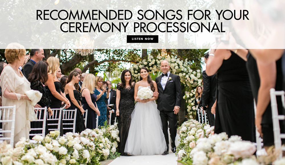Ceremony Songs For Wedding Party: Wedding Songs: 10 Modern & Oldies Ceremony Processional