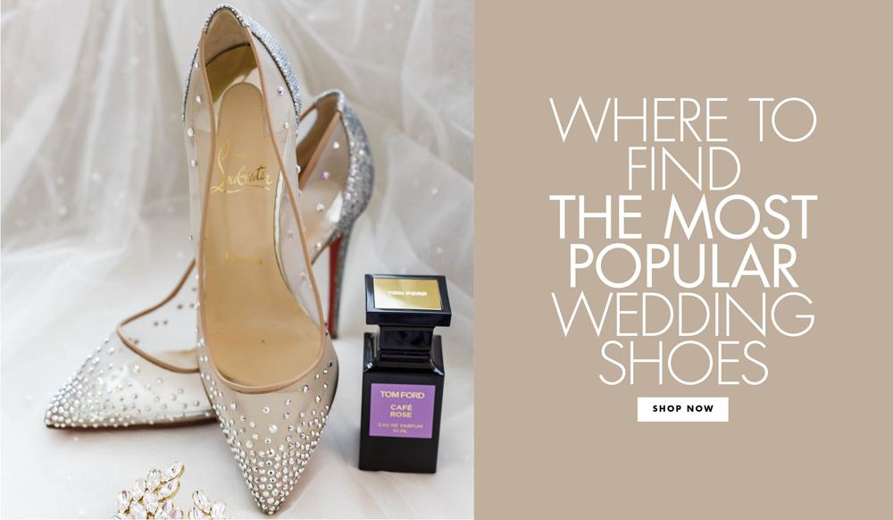 02db3079680 Wedding Shoes  Shop the Most Popular Bridal Heels - Inside Weddings