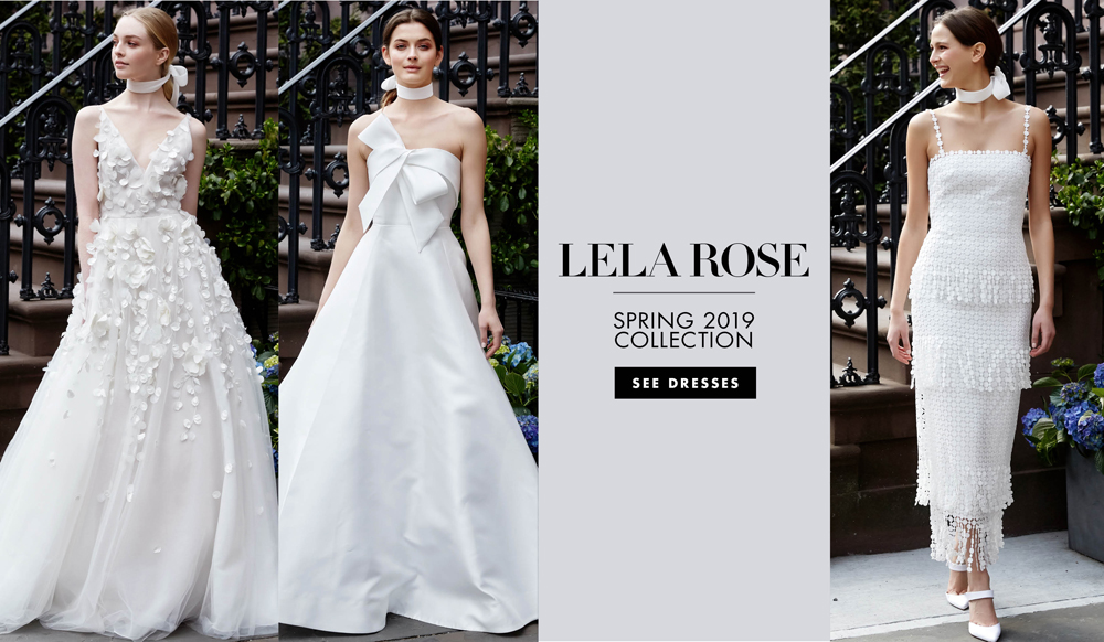 Bridal Fashion Week Lela Rose Spring 2019 Inside Weddings