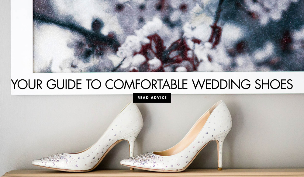5497025f8663 Make Your Bridal Shoes Less Painful - Inside Weddings