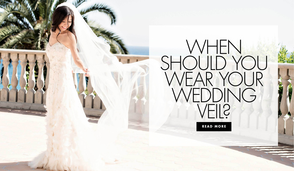 When Should You Wear Your Wedding Veil?