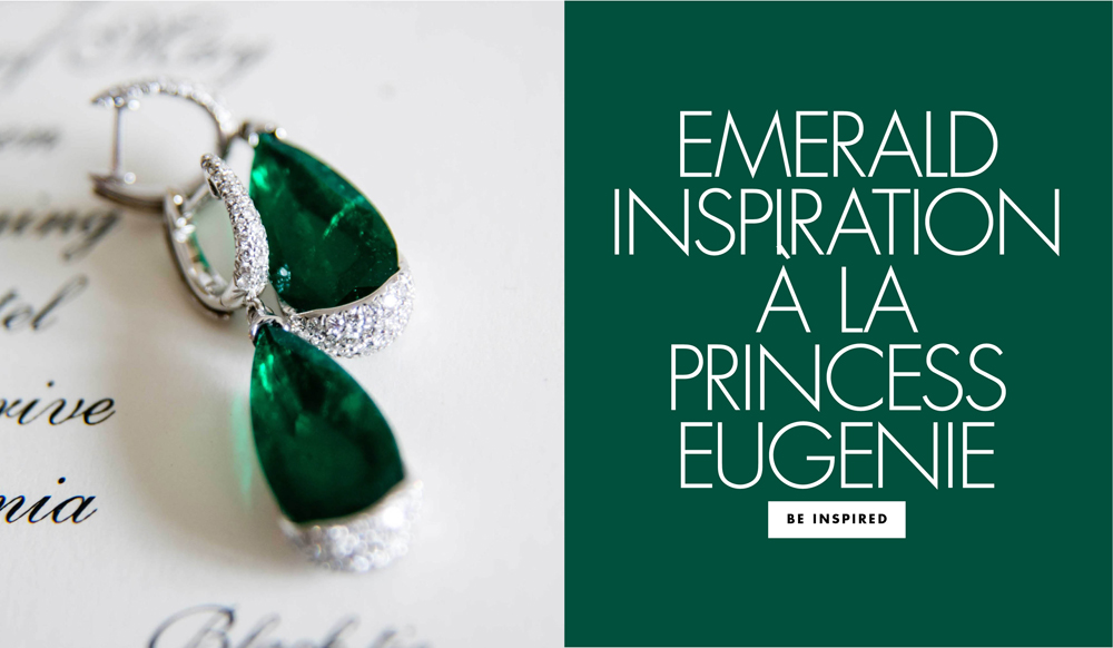 Princess Eugenie Wedding Inspiration: Emerald Jewelry ...