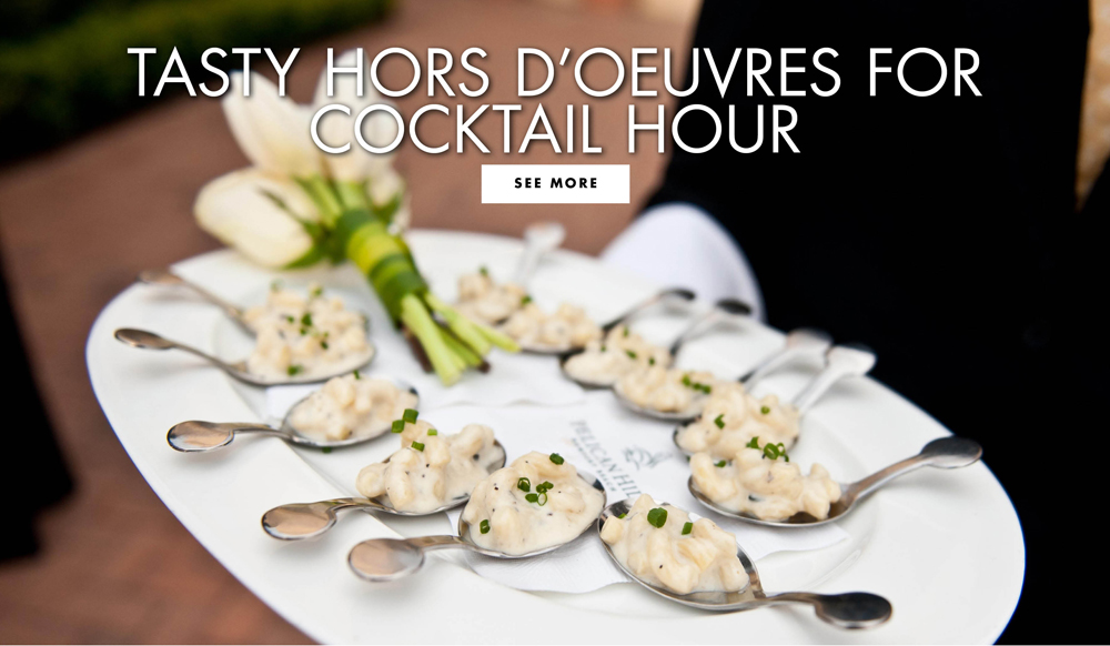 Cocktail Hour Ideas Wedding Appetizers Guests Will Love Inside