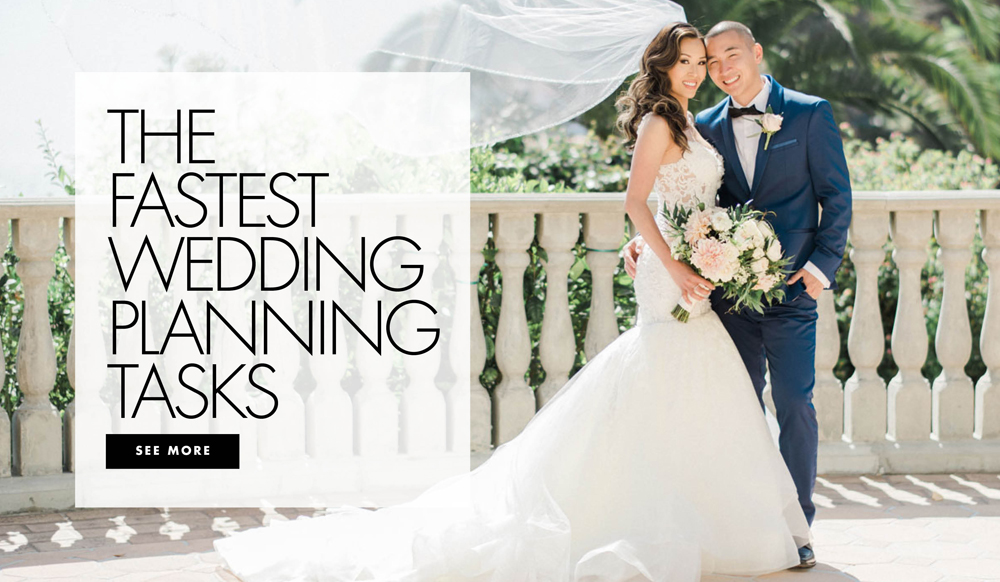 Wedding Planning Tasks That Can Be Finished Quickly